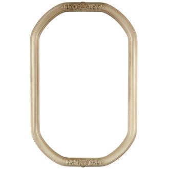 Contessa Octagon Frame #554 - Taupe