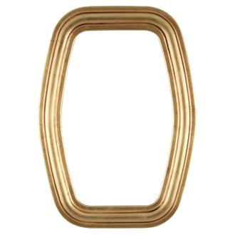 Contessa Hexagon Frame #554 - Gold Leaf