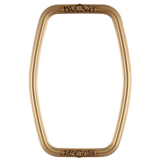Contessa Hexagon Frame #554 - Gold Spray