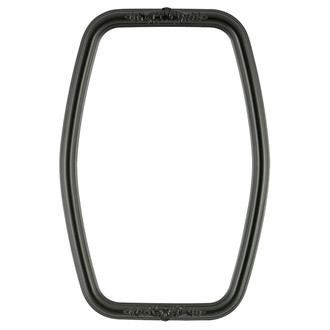 Contessa Hexagon Frame #554 - Matte Black