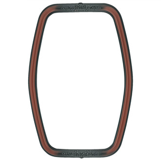 Contessa Hexagon Frame #554 - Rosewood