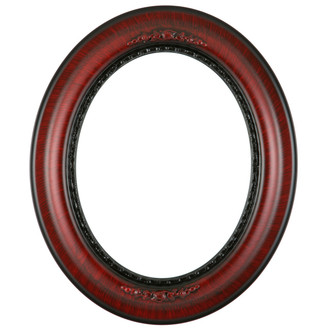 Boston Oval Frame # 457 - Vintage Cherry