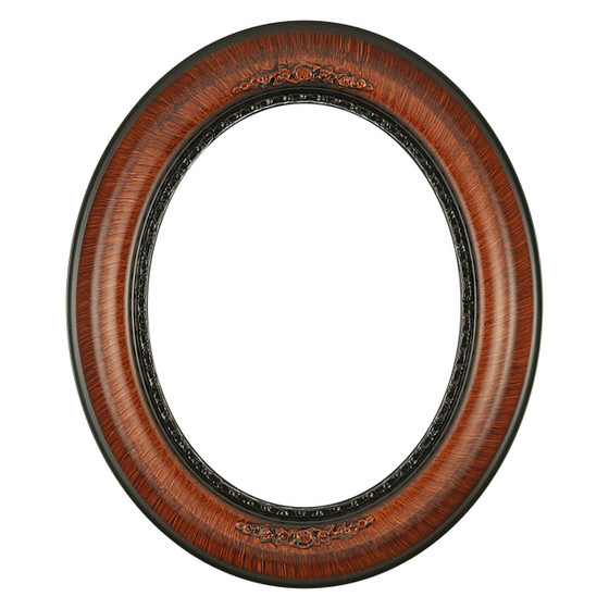 Boston Oval Frame # 457 - Vintage Walnut