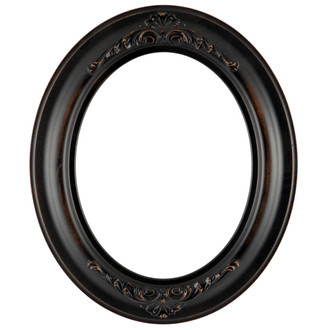 451 Winchester Oval Frame - Rubbed Bronze