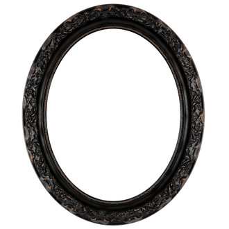 Rome Oval Frame #602 - Rubbed Bronze