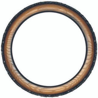Brookline Round Frame # 101 - Toasted Oak