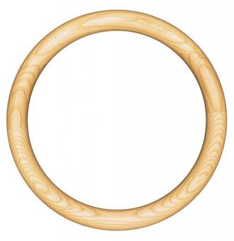 Sydney Round Frame # 200 - Honey Oak