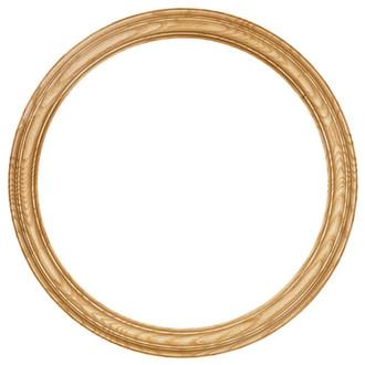 Melbourne Round Frame # 300 - Honey Oak