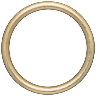 Pasadena Round Frame # 250 - Gold Leaf