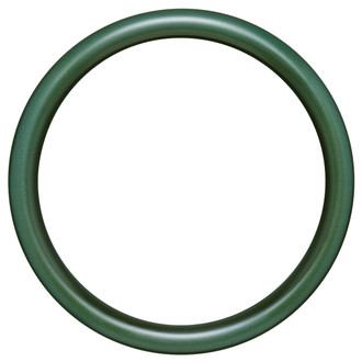 Pasadena Round Frame # 250 - Hunter Green