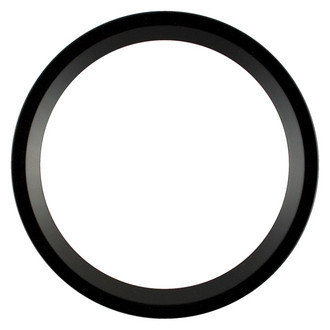 Huntington Round Frame # 421 - Matte Black