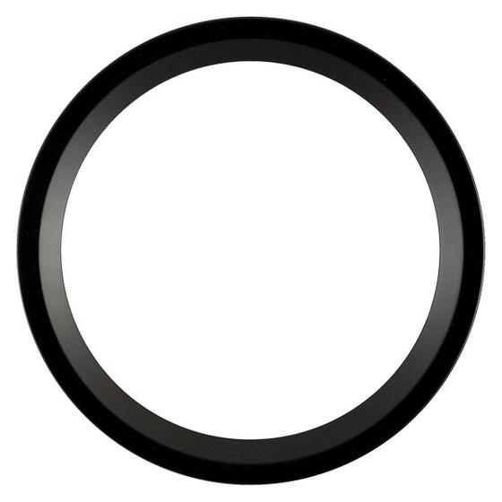 Round Frame in Matte Black Finish| Black Picture Frames
