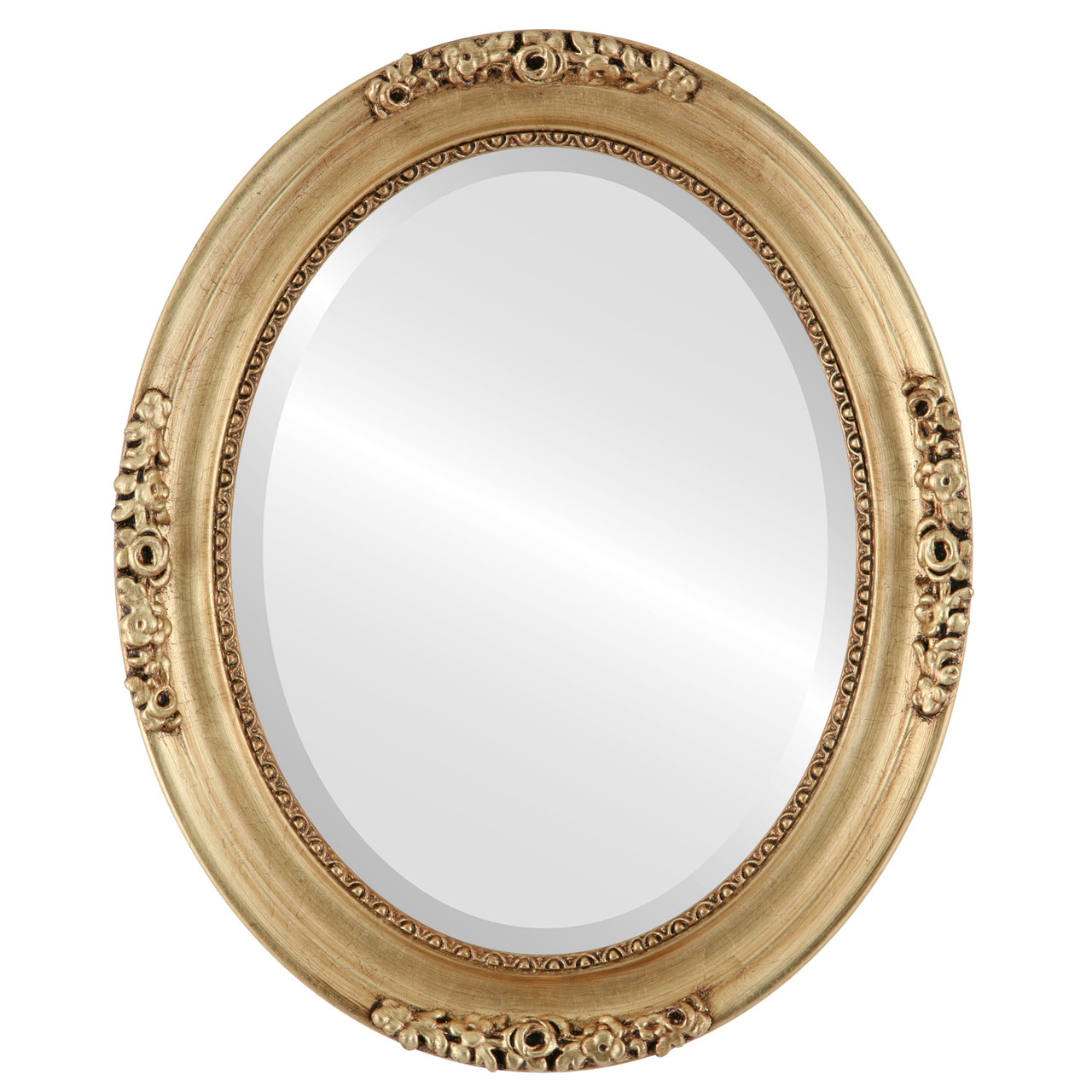 Gold Oval Mirrors from $177| Versailles Gold Leaf| Free Shipping