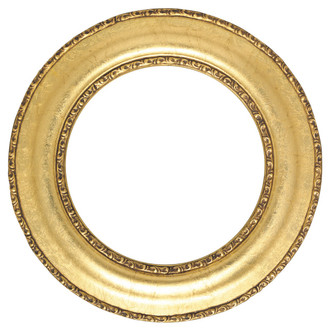 Somerset Round Frame # 452 - Gold Leaf