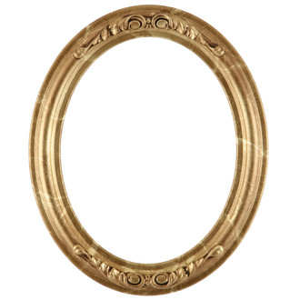 Florence Oval Frame # 461 - Champagne Gold