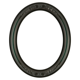 Florence Oval Frame # 461 - Hunter Green