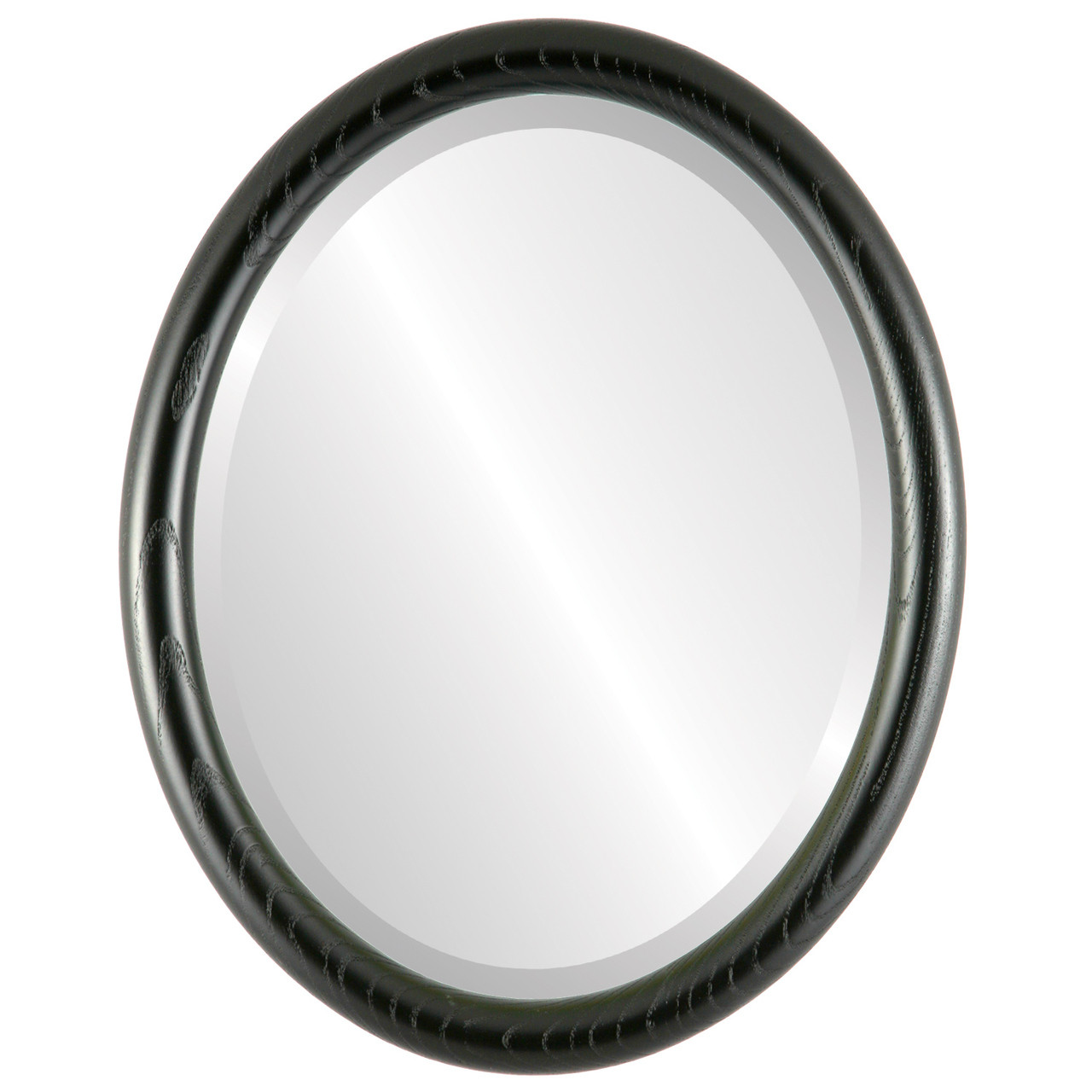 Black Oval Mirrors from $120| Sydney Matte Black| Free Shipping