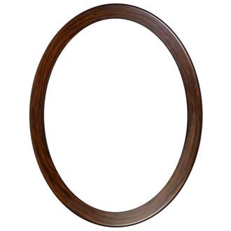 Vienna Oval Frame # 481 - Mocha