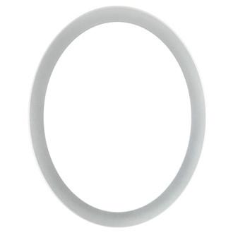 Vienna Oval Frame # 481 - Bright Silver