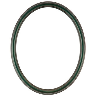 Saratoga Oval Frame # 550 - Hunter Green