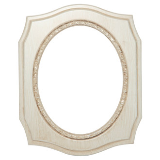 San Francisco Oval Frame # 609 - Antique White