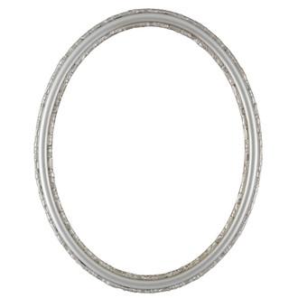 Virginia Oval Frame # 553 - Silver Shade