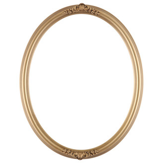 Contessa Oval Frame # 554 - Gold Spray
