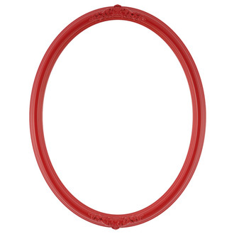 Contessa Oval Frame # 554 - Holiday Red