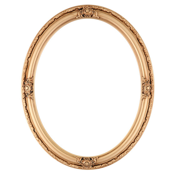 Oval Frame in Gold Paint Finish| Gold Picture Frames with Antique ...