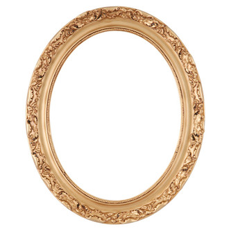 Rome Oval Frame # 602 - Gold Paint