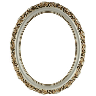 Rome Oval Frame # 602 - Silver