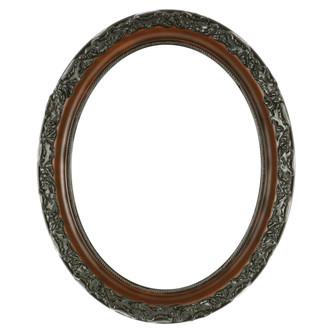 Rome Oval Frame # 602 - Walnut