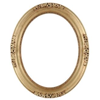 Versailles Oval Frame # 603 - Gold Leaf