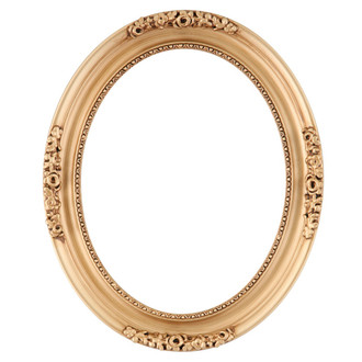Versailles Oval Frame # 603 - Gold Paint