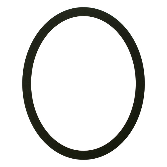 Oval Frame in Matte Black Finish| Simple Black Picture Frames with ...