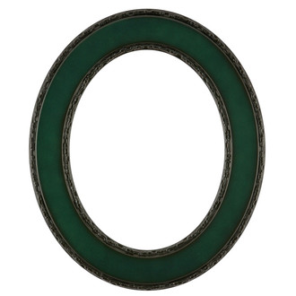 Paris Oval Frame # 832 - Hunter Green