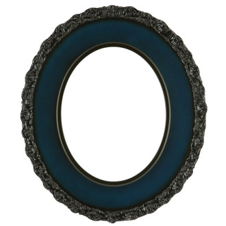 Williamsburg Oval Frame # 844 - Royal Blue