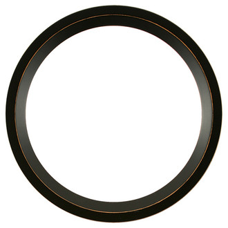 Huntington Round Frame # 421 - Rubbed Black