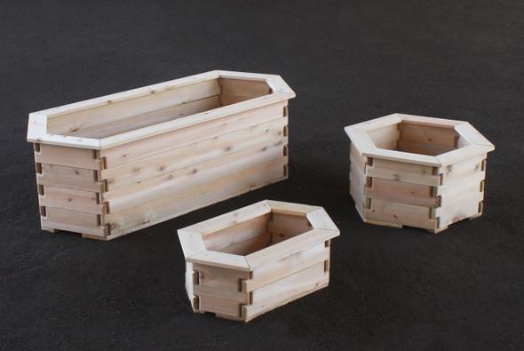 Hexagon Planter Boxes