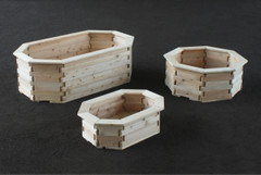 Octagon Planter Boxes