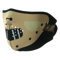 Ski Half Face Mask - Hannibal - Front View