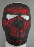 Red Shredder Ski Mask