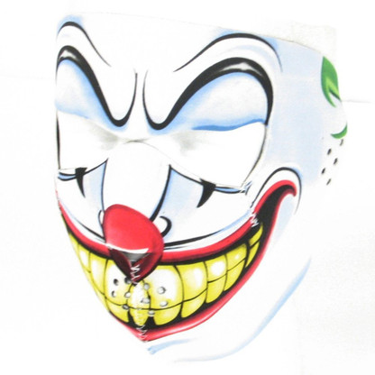 evil clown ski face mask