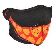 Glow in the Dark Teeth Neoprene Half Face Mask
