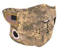 Army Combat Uniform Ski Half Face Mask