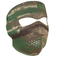 Multi Brushed Camo Ski Mask