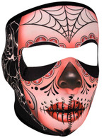 Sugar Skull Ski Face Mask