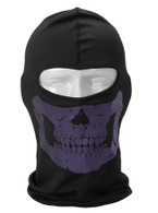Purple Skull Balaclava