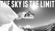 The Sky is the Limit Skiing Shirt
