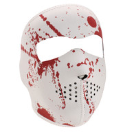 Blood Splatter Neoprene Face Mask